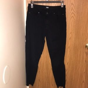 paige hoxton ankle skinny black shadow jeans